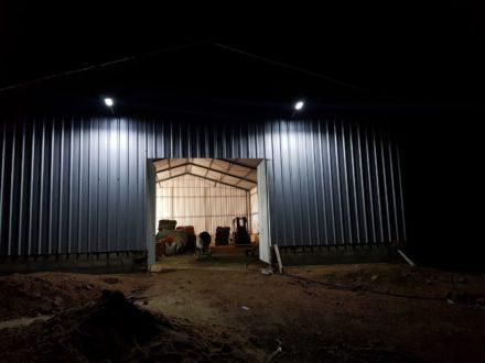 Luz solar para exteriores de 120 W LED 4