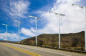 Luz solar para exteriores de 120 W LED 5