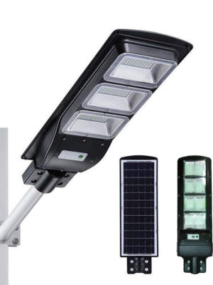 Luz solar para exteriores de 120 W LED