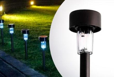 Estaca Solar Farol iluminación Led Lampara Jardin 3