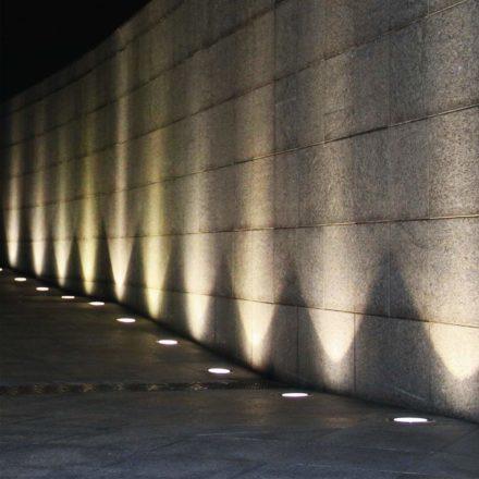 Farol Estacas Enterrable C/luz Led Panel Solar Recargab 8led 5