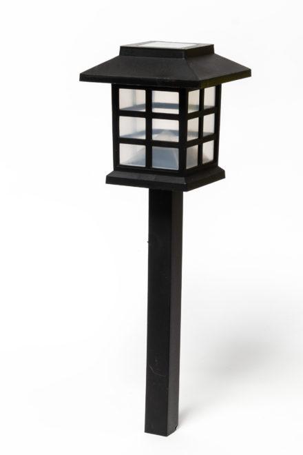Estaca Solar Farol iluminación Jardín 4
