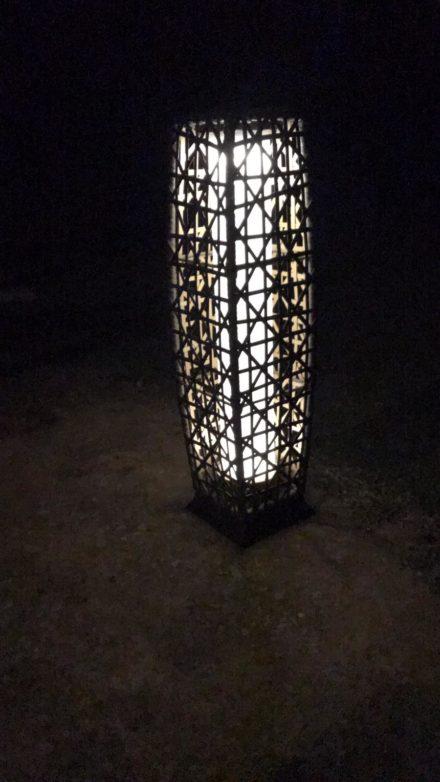 Lámpara de suelo para exteriores 4
