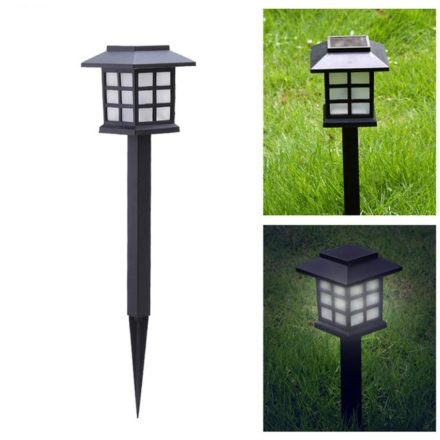 Estaca Solar Farol iluminación Pack x 6 5